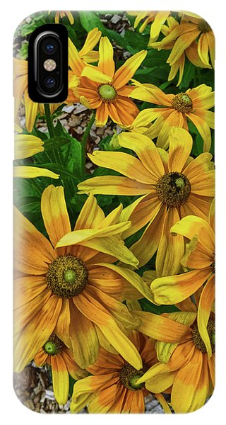 Yellow In Bloom IPhone Case