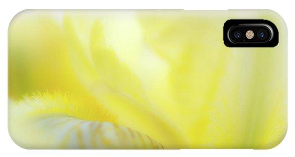 Yellow Iris 2 IPhone Case