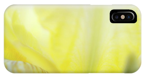 IPhone Case featuring the photograph Yellow Iris 3 by Leland D Howard