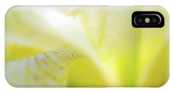 Yellow Iris 5 IPhone Case
