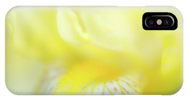 IPhone Case featuring the photograph Yellow Iris 6 by Leland D Howard