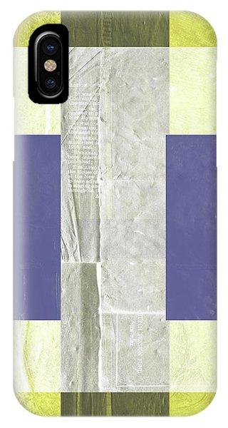 Century iPhone Case - Yellow Mist 1 by Naxart Studio