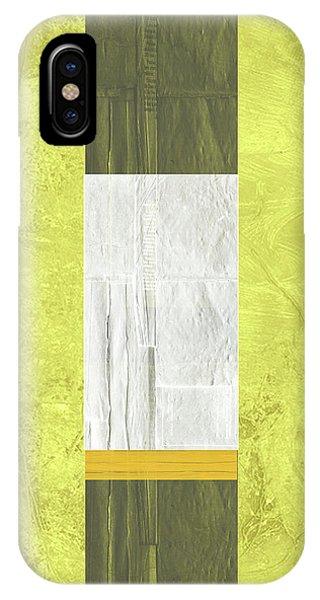 Century iPhone Case - Yellow Mist II by Naxart Studio
