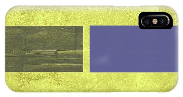 Century iPhone Case - Yellow Mist IIi by Naxart Studio