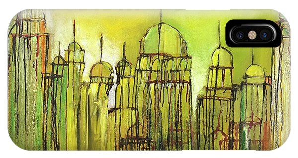 Yellow Mosque  IPhone Case