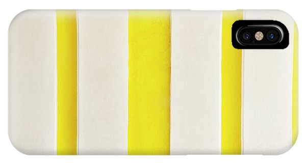 IPhone Case featuring the photograph Yellow Stripes Background by Tim Hester