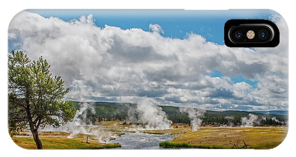 IPhone Case featuring the photograph Yellowstone Rising by Matthew Irvin