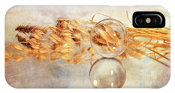 IPhone Case featuring the photograph Yesterday's Seeds by Randi Grace Nilsberg
