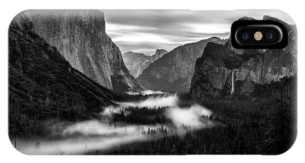 Yosemite Fog 1 IPhone Case