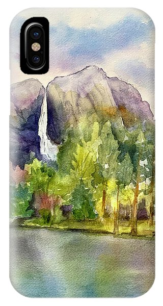 Yosemite Waterfalls IPhone Case