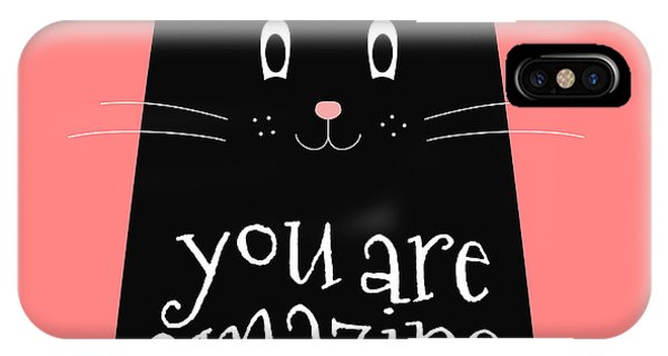 You Are Amazing - Baby Room Nursery Art Poster Print IPhone Case