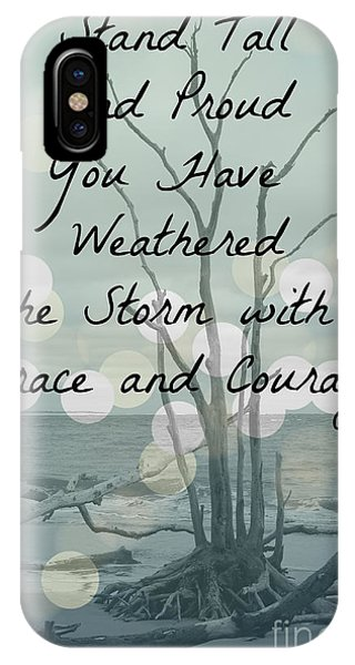 iPhone Case - You Have Weathered The Storm by Carol Groenen