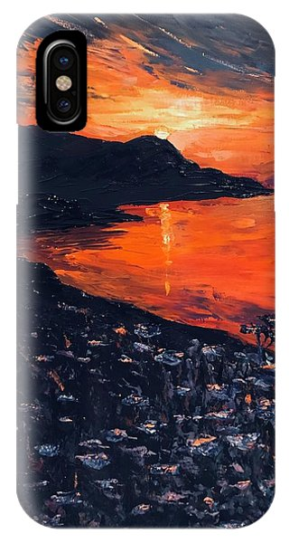 You Make The Sunset Shout For Joy IPhone Case