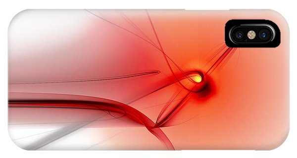 IPhone Case featuring the digital art You Started Me Thinking by Jeff Iverson