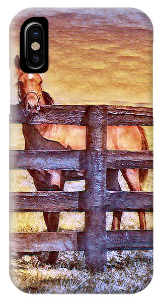 Young Kentucky Thoroughbred IPhone Case
