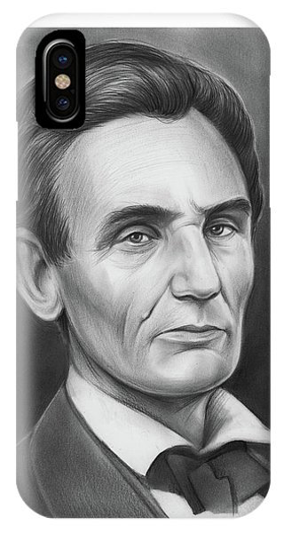 United States Presidents iPhone Case - Young Lincoln Lawyer by Greg Joens