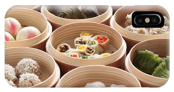 Hot iPhone Case - Yumcha, Dim Sum In Bamboo Steamer by Bonchan