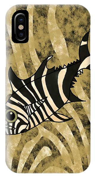 iPhone Case - Zebra Fish 1 by Joan Stratton
