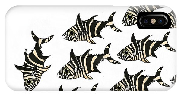 iPhone Case - Zebra Fish 1 Of 4 by Joan Stratton