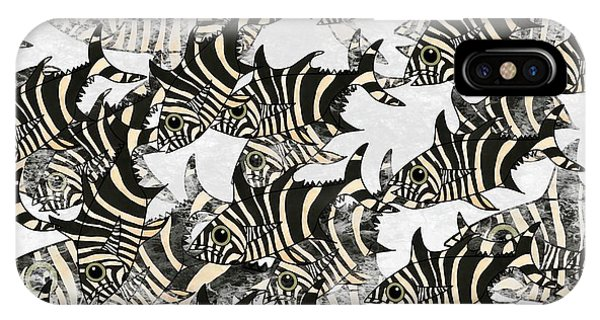 iPhone Case - Zebra Fish 10 by Joan Stratton