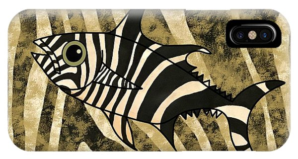 iPhone Case - Zebra Fish 2 by Joan Stratton