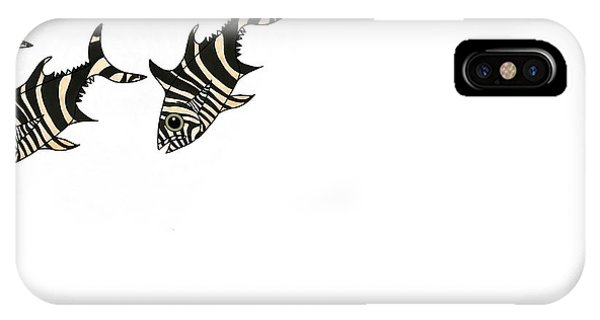 iPhone Case - Zebra Fish 3 Of 4 by Joan Stratton
