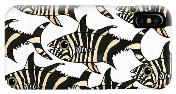 iPhone Case - Zebra Fish 4 by Joan Stratton