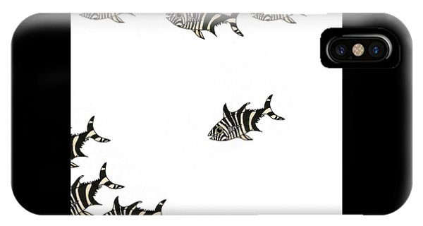iPhone Case - Zebra Fish 4 Of 4 by Joan Stratton