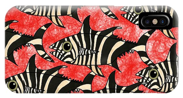 iPhone Case - Zebra Fish 5 by Joan Stratton