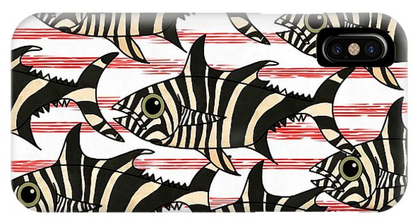 iPhone Case - Zebra Fish 6 by Joan Stratton