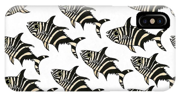 iPhone Case - Zebra Fish 7 by Joan Stratton