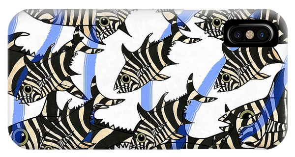 iPhone Case - Zebra Fish 8 by Joan Stratton