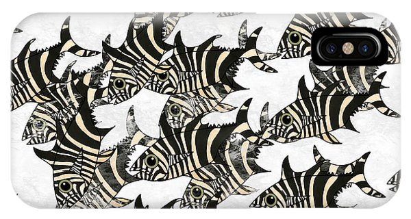 iPhone Case - Zebra Fish 9 by Joan Stratton