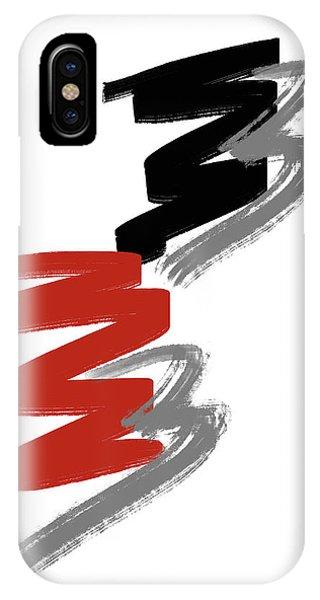 IPhone Case featuring the digital art Zee Paint by Pennie McCracken