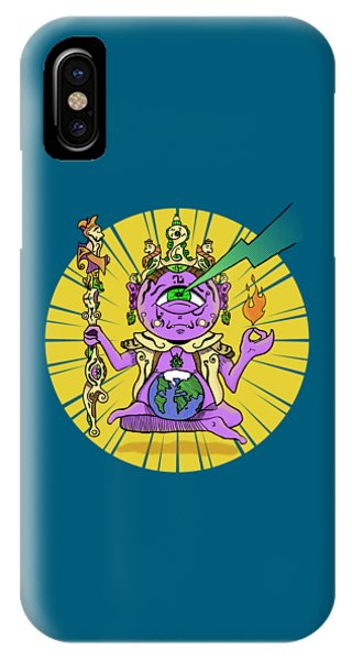 IPhone Case featuring the digital art Zen by Sotuland Art