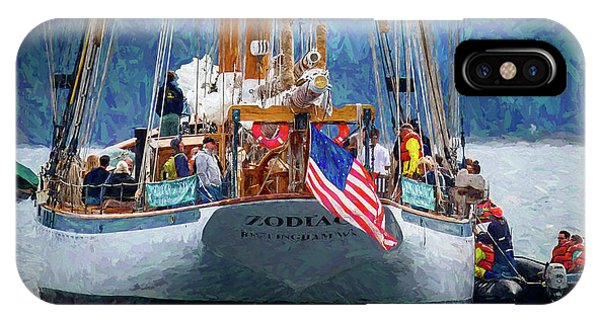 Port Townsend iPhone Case - Zodiac by Mike Penney