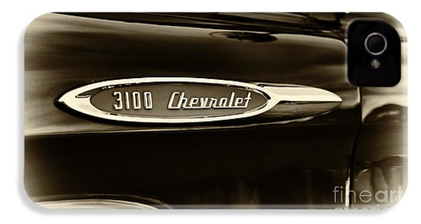 3100 Chevrolet Truck Sepia IPhone 4 Case by Tim Gainey
