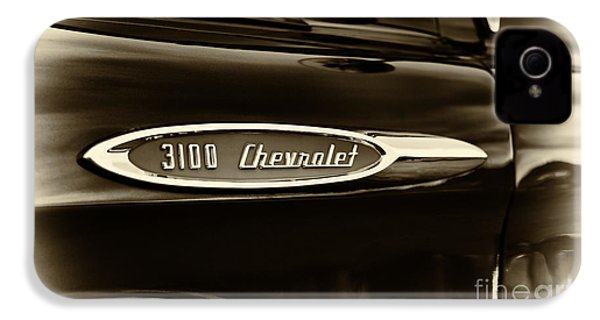 3100 Chevrolet Truck Sepia IPhone 4 / 4s Case by Tim Gainey