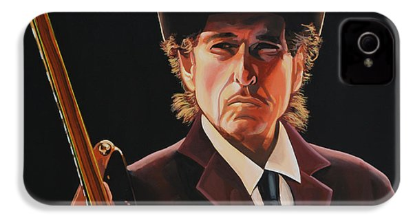 Bob Dylan 2 IPhone 4 Case by Paul Meijering