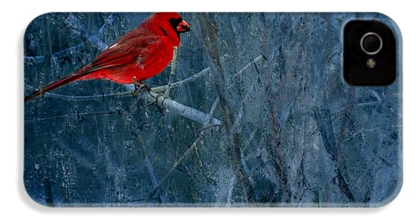 Northern Cardinal IPhone 4 / 4s Case by Thomas Young