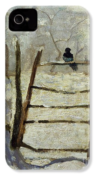 The Magpie IPhone 4 / 4s Case by Claude Monet