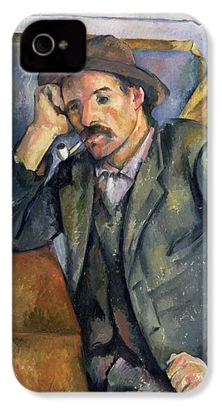 The Smoker IPhone 4 / 4s Case by Paul Cezanne