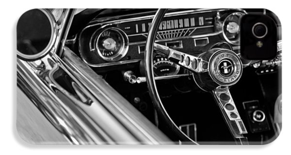 1965 Shelby Prototype Ford Mustang Steering Wheel IPhone 4 Case