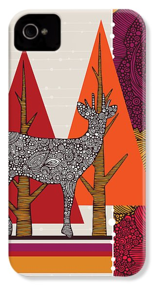 A Deer In Woodland IPhone 4 Case