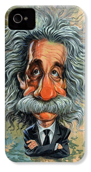 Albert Einstein IPhone 4 Case