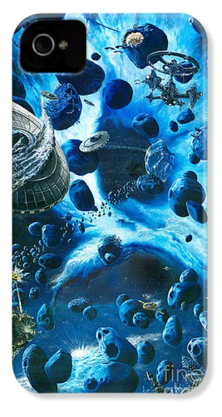 Alien Pirates  IPhone 4 Case by Murphy Elliott