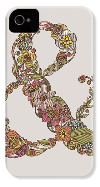 Ampersand IPhone 4 Case by Valentina