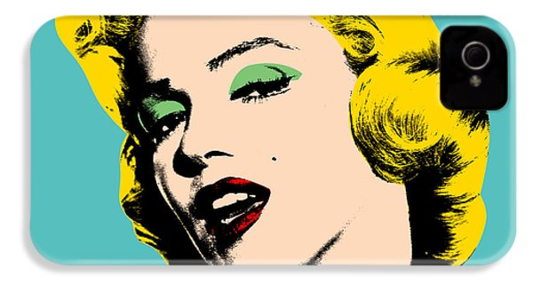 Andy Warhol IPhone 4 / 4s Case by Mark Ashkenazi