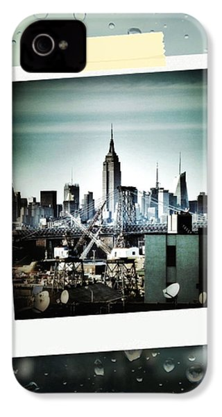 April In Nyc IPhone 4 Case by Natasha Marco