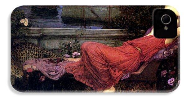 Ariadne IPhone 4 Case by John William Waterhouse